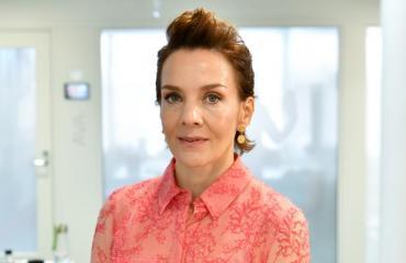 Maria Veitola oli Jotti-rakkaansa kanssa Tanssii tähtien kanssa -studiolla.