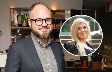 Tuomas Enbuske kuvasi Eveliina-rakastaan.