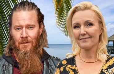 Jouni Hynynen ja Mari Perankoski välttelevät turistirysiä.