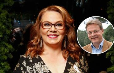 Nina Mikkonen turvautui kuolleeseen mieheensä.