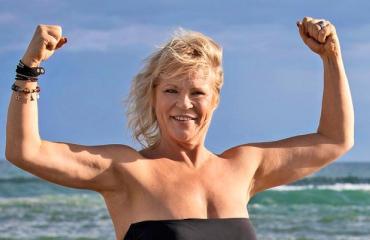 Johanna Karjunen laihdutti hurjasti.