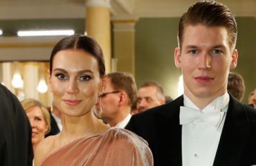 Jere Sallinen ja Mari Viitala