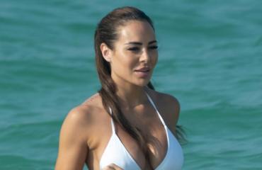 Sofia Belorf lomaili Dubaissa.