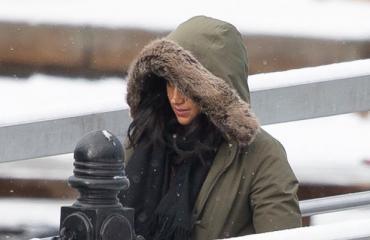 Meghan kuvattiin Kanadassa.