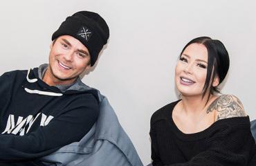 Niko Saarinen ja Jenna Mäkikyrö