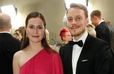 Sanna Marin ja Markus Räikkönen.