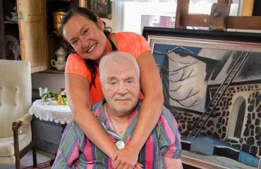 Juhani ja Leila Palmu