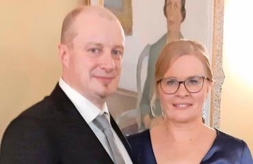 Erkki Räsänen ja Hanna Huttunen