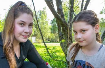 Nea-Sofia ja Suvi Jumisko