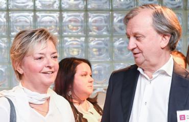 Maria Thelen ja Hjallis Harkimo