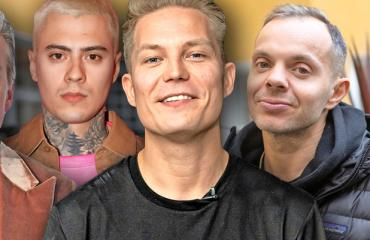 Cheek, VilleGalle, Mikael Gabriel ja Uniikki