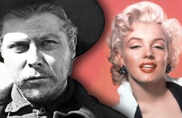 Albert Salmi ja Marilyn Monroe