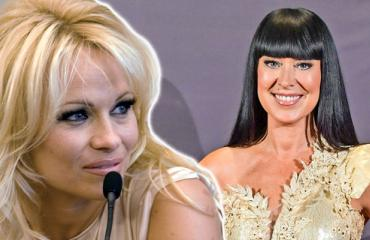 Pamela Anderson ja Ellen Jokikunnas