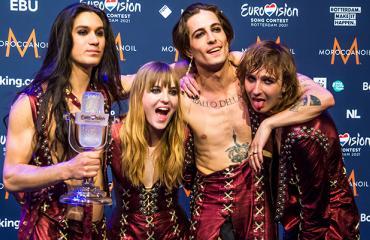 Euroviisut Måneskin Italia voittajat