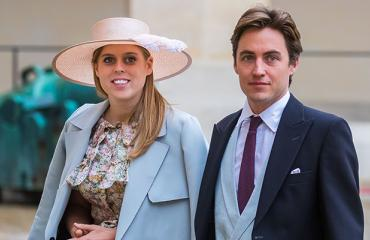 Prinsessa Beatrice ja Edoardo Mapelli Mozzi