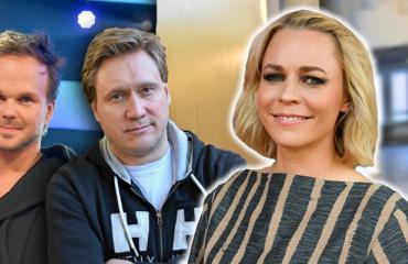Lauri Ylönen, Samuli Edelmann ja Paula Vesala