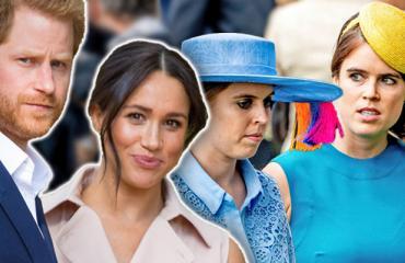 Harry, Meghan, Beatrice ja Eugenie