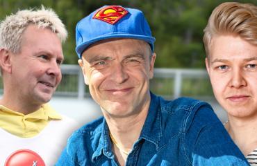 Matti Nykänen, Joona Jalkanen ja Jussi-Petteri Peräinen