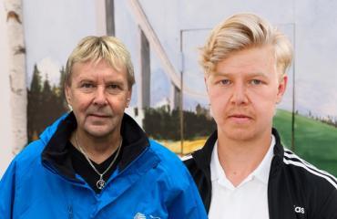 Matti Nykänen ja Jussi-Petteri Peräinen