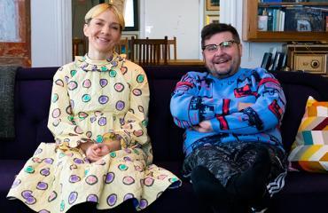 Janne Kataja ja Maria Veitola