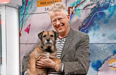 Pekka Pouta ja Sini-koira