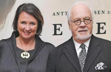 Rafaela Seppälä ja Kaj Forsblom