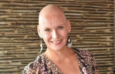 Rintasyöpää vastaan taisteleva Heidi Sohlberg: Kalju toi paremmat yöunet!