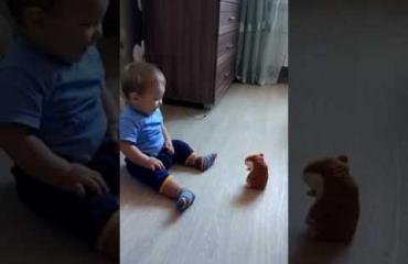 Voi ei, hamsteripehmolelun vinkaisu saa taaperon kauhun valtaan!