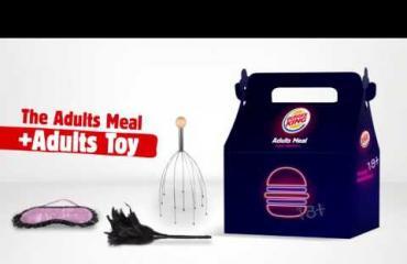 Hyvää ystävänpäivää, Burger King tarjoilee K18-aterioita: lelut omaa luokkaansa!