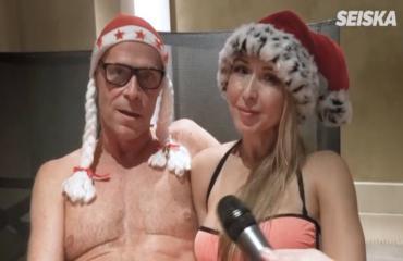 Toivo Sukari ja fitness-Nadja kylpevät rakkaudessa – kirjaimellisesti: katso romanttinen video!