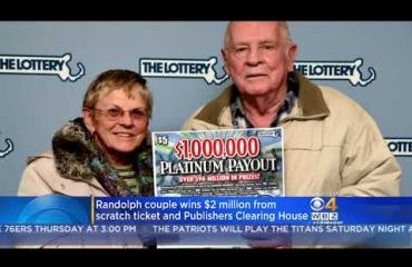 Maailman onnekkain aviopari? Robertin vaimo voitti lotossa miljoonan - Robert itse viisi kuukautta myöhemmin!
