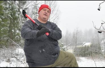Koomikko Miika Pettersson polttaa läskiä omalla äijäsalillaan - painoa lähtenyt jo 50 kiloa!