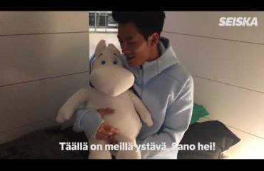 Ohhoh! Supersuosittu kiinalainen tv-tähti muutti asumaan Helsinki-Vantaan lentokentälle - video!