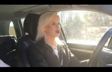 Anna-Sofia, 21, on Suomen surkein kuski - Seiska testasi vaalean kaunottaren kyydin!