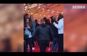 Video vuoden kohutuimmasta julkkistappelusta: Martina retuutti Sofia Belórfia VIP-teltassa - potki myös järjestyksenvalvojaa!