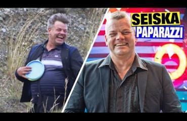 Katso video: Näin upeissa maisemissa Jari Sillanpää ja Siim pelailivat ja hassuttelivat Espanjassa: Siltsu piristyi frisbeegolfista silmin nähden!