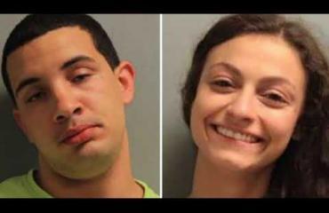 Nainen harrasti seksiä vangin kanssa oikeustalon portaissa: pidätyskuvissa maireat ilmeet - video!