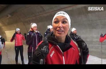 Nyt latua! Miss Suomi -finalistit Sami Jauhojärven hiihto-opissa – katso video!