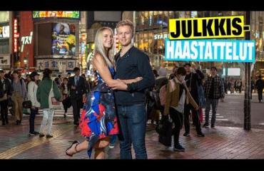 Näin Miss Suomi Alina Voronkovan ja kiekkoilija Joonas Hurrin rakkaus sai alkunsa: Meillä on kaksi vähän erilaista tarinaa - katso video!