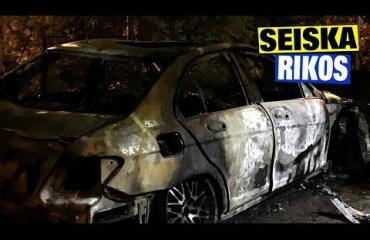 Vihamiehet iskivät?! Kohuliikemiehen öky-Mersu poltettiin Itä-Helsingissä – kuvat ja video!