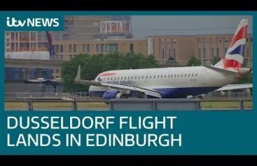 Tervetuloa Edinburghiin!...eiku - lentokone laskeutui väärään maahan!