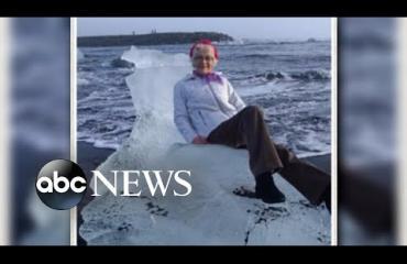 Merelle jäälohkareella ajautuneesta mummosta tuli somejulkkis!