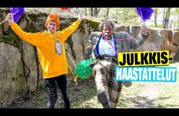 """""""Aika moni sketsihahmo pääsi läpi!"""" - näin Putous-finalistit Nöpö-Felix ja Pentti Olavi Liitikko ruotivat eduskuntavaalien tulosta!"""