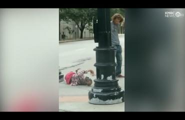 Seksinukkea kadulla kanniskellut mies aiheutti poliisioperaation Kansas Cityssä!