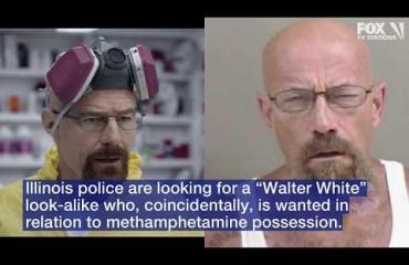 Tosielämän Breaking Bad! Polisii etsii Walter Whiten kaksoisolentoa huumerikoksesta!