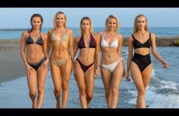 Ken heistä on kaikkein.....kuumin! Seiska missien mukana Turkissa - katso video seksikkäistä rantakuvauksista!