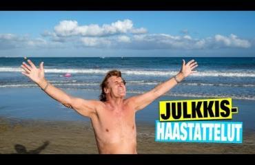 Video: uskomattomia bikinivartaloita! Kanariansaarten tulikuumat bikinibeibet eksyivät heti Frederikin, 74, kainaloon - tämän miehen karismaa señoritan on mahdotonta vastustaa!
