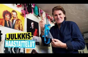 """Harvinainen takahuonevideo julki! Naisia ja mainetta niittäneellä Frederikillä, 74, on Gran Canarialla uskomaton kokoelma naisten pikkupöksyjä – ennakoi keikkaansa: """"Toivotaan parasta, pelätään pahinta"""""""
