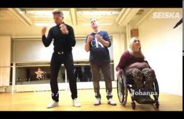 Neliraajahalvaantunut Johanna aikoo tanssia häissään – pestasi TTK-valmentajan opettajakseen!