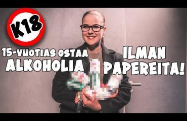"""Video paljastaa: näin helposti 15-vuotias ostaa alkoholia ruokakaupoista ilman papereita – """"No, antaa mennä tämän kerran!"""""""